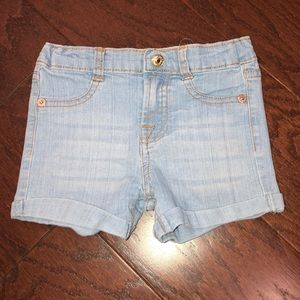 7 for all mankind jean shorts 2 2T